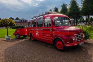Картинки Фиат Винтаж Темно красный 1954 615 N машина