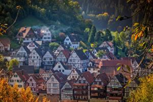 Фото Здания Германия Село Schiltach, Baden-Württemberg город