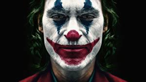 Фотографии Джокер Крупным планом Джокер 2019 Клоун Лицо Joaquin Phoenix Joker кино