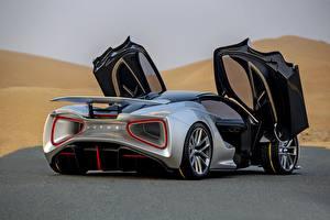 Фото Lotus Вид сзади Машины 2020, Evija Автомобили