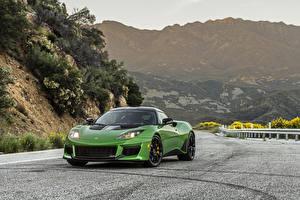 Обои Лотус Зеленая Металлик 2020 Evora GT