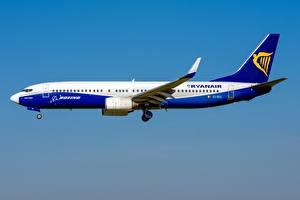 Фото Пассажирские Самолеты Боинг Сбоку 737-800W, Ryanair