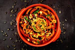 Фотография Каша Фрукты Вторые блюда Зерна Еда