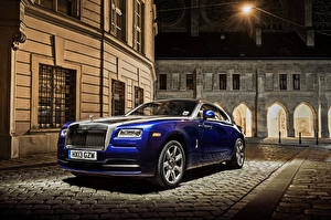 Фото Роллс ройс Синяя 2013-19 Wraith Worldwide авто
