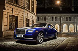 Фото Rolls-Royce Синих 2013-19 Wraith Worldwide Автомобили