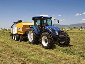 Обои Сельскохозяйственная техника Трактор 2012-19 New Holland TD5.115 Cab