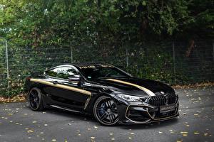 Фотография BMW Черные Металлик Manhart 8-Series 2019 G15 M850i XDrive MH8 600 машины