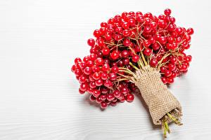 Картинки Ягоды Красная Viburnum Пища