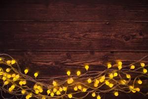 Картинка Новый год Доски Шаблон поздравительной открытки Гирлянда