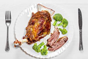 Картинки Ножик Овощи Мясные продукты Тарелка Вилка столовая Еда