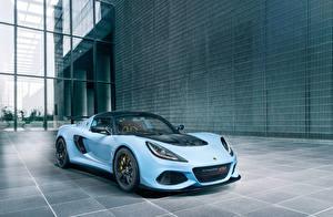 Картинки Lotus Голубых 2018-19 Exige Sport 410 Worldwide авто
