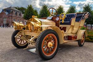 Фотографии Винтаж 1904 Fafnir Omnimobil Автомобили