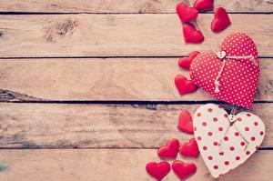 Обои День святого Валентина Доски Шаблон поздравительной открытки Сердца