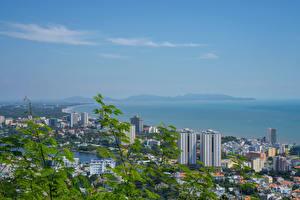 Фотографии Вьетнам Здания Берег Vung Tau город