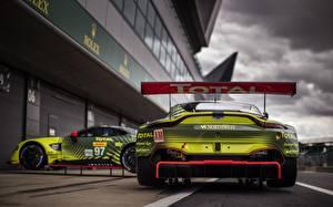 Фотографии Aston Martin Вид сзади Vantage GTE Silverstone машины