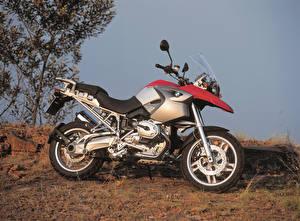 Фотография BMW - Мотоциклы Сбоку 2004-08 R 1200 GS Мотоциклы