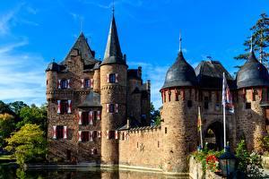 Фотография Замки Германия Satzvey Castle Города