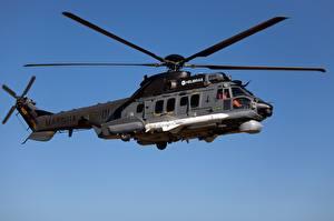 Обои Вертолет Airbus H225M MBDA AM39 Exocet Brazilian Navy