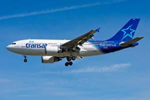 Фото Пассажирские Самолеты Airbus Сбоку A310-300 C-GSAT