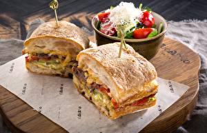 Картинки Сэндвич Овощи