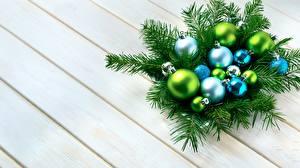 Картинки Рождество Ветвь Шар Доски Шаблон поздравительной открытки