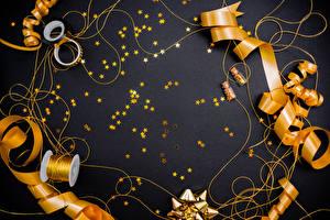 Обои Новый год Лента Звездочки Животные картинки