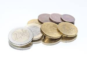 Фотография Евро Деньги Монеты 2 1 50 20 cent