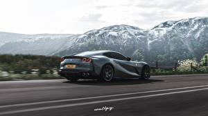 Фотографии Forza Horizon 4 Феррари 2018 812, by Wallpy компьютерная игра Автомобили