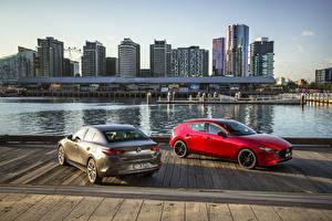 Фотография Мазда Вдвоем 2019 Mazda3 авто