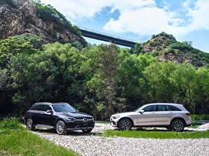 Фотографии Mercedes-Benz Двое CUV 2019 GLC 300 L 4MATIC AMG Line