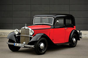 Фото Мерседес бенц Ретро Металлик 1933-36 200 Sonnenschein Limousine