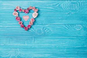 Фотография Сердца Доски Шаблон поздравительной открытки Mom day Цветы