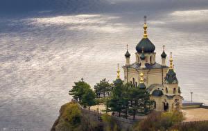 Фотографии Храмы Церковь Крым Россия Foros Church of Christ's Resurrection, Alexey Bagaryakov