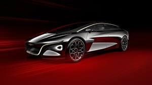 Фотография Aston Martin Металлик Черные Concept, Vision, Lagonda автомобиль