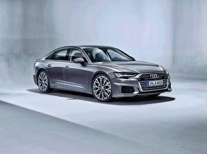 Фотография Audi Серый Металлик A6 50 TDI quattro S line Worldwide Автомобили