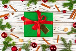 Картинка Новый год Подарки Бантик