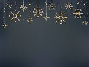 Картинки Рождество Снежинка Шаблон поздравительной открытки Сером фоне