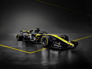 Обои для рабочего стола Формула 1 Рено 2018, R.S.18 Автомобили