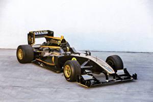 Картинки Лотус Формула 1 Черные 2010-11 T125 Exos автомобиль