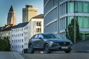 Фото Mazda Серая Металлик 2019 CX-30 Worldwide машина