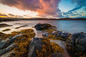 Обои Небо Шотландия Isle of Skye, Flashader Природа картинки