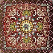 Фотографии Орнамент Текстура