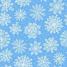 Обои Орнамент Текстура Снежинки