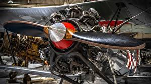 Фотографии Самолеты Мотор Biplane