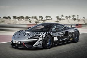 Картинка McLaren Едущая Купе 2020, V8 twin-turbo, 620R авто