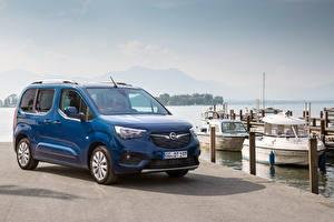 Фотографии Opel Минивэн Синих Металлик 2018-19 Combo Life