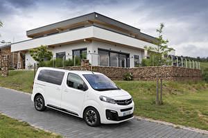 Фотография Opel Минивэн Белая 2019 Zafira Life Small Автомобили