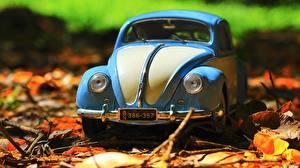 Обои Игрушка Фольксваген Спереди Beetle авто