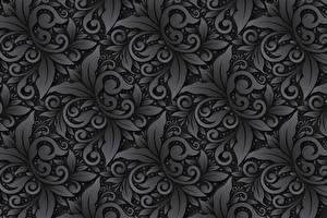 Картинка Орнамент Текстура Серая