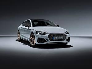 Картинка Ауди Белых Металлик RS5, Sportback, RS 5, 2020 машины